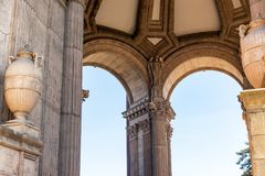Palace of Fine Arts Interior Royalty Free Stock Photo