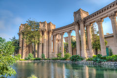 Palace of Fine Arts. The Palace of Fine Arts in the Marina District of San Francisco, California, is a  structure constructed for the 1915 Panama-Pacific Stock Photos