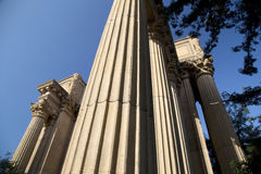 The Palace of Fine Arts Stock Photography