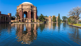 Palace of Fine Arts Panorama Stock Photo