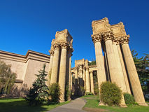 Palace of Fine Arts in San Francisco. Royalty Free Stock Photo
