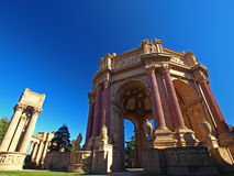 Palace of Fine Arts in San Francisco. Royalty Free Stock Photography