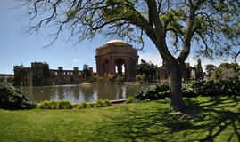 Palace of fine arts san francisco Royalty Free Stock Photography