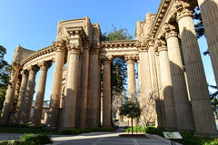 Palace of Fine Arts in San Francisco Stock Photos
