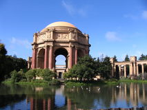 Palace of Fine Arts, San Francisco. A view of the Palace of Fine Arts, in San Francisco Stock Photo