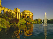 Palace of Fine Arts Royalty Free Stock Images