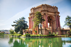 The Palace of Fine Arts in San Francisco Royalty Free Stock Photos