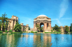 The Palace of Fine Arts in San Francisco Stock Image
