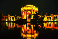 The Palace of Fine Arts in San Francisco Stock Images