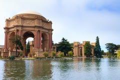 Palace of Fine Arts at San Francisco, California, USA Stock Images