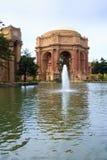 Palace of Fine Arts at San Francisco, California, USA stock photo