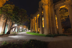 The Palace of Fine Arts in San Francisco Stock Photography