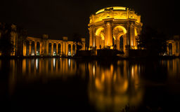 Palace of Fine Arts Royalty Free Stock Photos