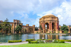 Palace of fine arts at San Francisco. stock photos