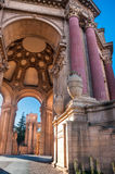 Palace of Fine Arts San Francisco stock photo