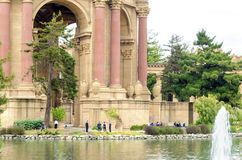 Palace of Fine Arts, San Francisco Royalty Free Stock Images