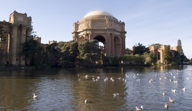 Palace Of Fine Arts On Sunny Day Royalty Free Stock Photography