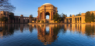 Palace of Fine Arts at Sunrise Royalty Free Stock Image