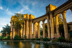 The Palace of Fine Arts Theater, in San Francisco  Royalty Free Stock Images