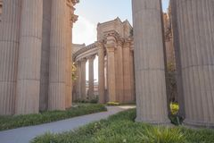 Palace of Fine Arts Theatre Royalty Free Stock Photos