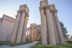 Palace of Fine Arts Theatre Royalty Free Stock Photography