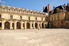 Palace of Fontainbleau Stock Images