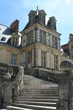Palace of Fontainebleau Stock Photos