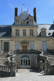 Palace of Fontainebleau Royalty Free Stock Images