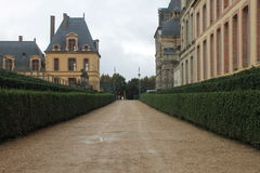 The palace of fontainebleau Stock Photography