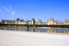 Palace Fontainebleau, France Stock Image