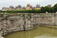 Palace of Fontainebleau Royalty Free Stock Photo