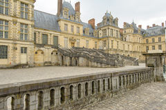 Palace of Fontainebleau in France Royalty Free Stock Photography