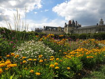 Palace of Fontainebleau Royalty Free Stock Photography