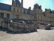 Palace of Fontainebleau Stock Photos