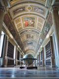 Palace of Fontainebleau - View on the Library Royalty Free Stock Photos