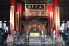 Palace of Forbidden City Stock Photo