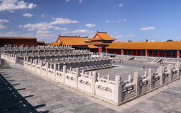 Palace of Forbidden City Royalty Free Stock Images