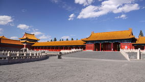 Palace of Forbidden City Stock Photo