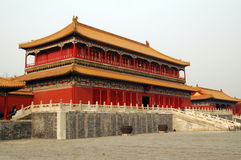 Palace in the Forbidden City Stock Image