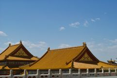 Palace in The Forbidden City, Beijing Royalty Free Stock Photography