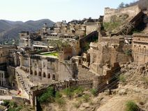 Palace fort of Bundi, India Stock Photo