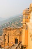 Palace-fortress in India. The amber Fort, the Palace-fortress in India Stock Photo