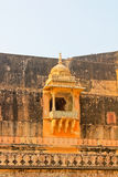 Palace-fortress in India. The amber Fort, the Palace-fortress in India Royalty Free Stock Photography
