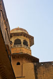Palace-fortress in India. The amber Fort, the Palace-fortress in India Stock Image