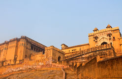 The Palace-fortress in India. City Palace in India, the home of the Royal family Stock Photography