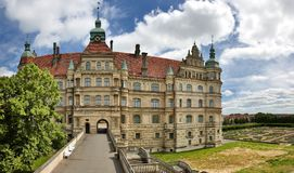 Palace of Güstrow Germany Royalty Free Stock Photo