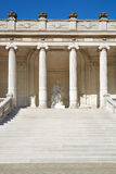 Palace Galliera exterior, stairway and colonnade in Paris Stock Image