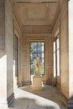 Palace Galliera interior with statue in Paris Stock Images