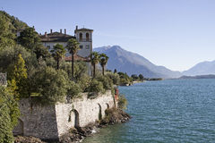 Palace Gallio in Gravedona. Was the noble residence of a cardinal Royalty Free Stock Image