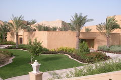 Palace garden. In Dubai The Jumeirah Stock Photography